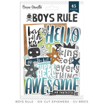 Cocoa Vanilla Studio - Boys Rule Ephemera