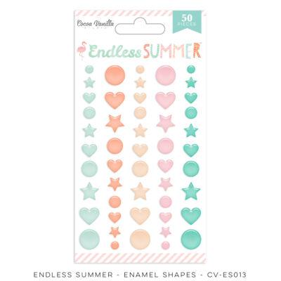 Cocoa Vanilla Studio - Endless Summer Enamel Shapes