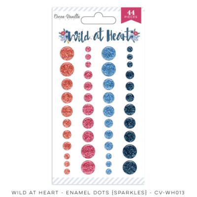 Cocoa Vanilla Studio - Wild At Heart Enamel Dots