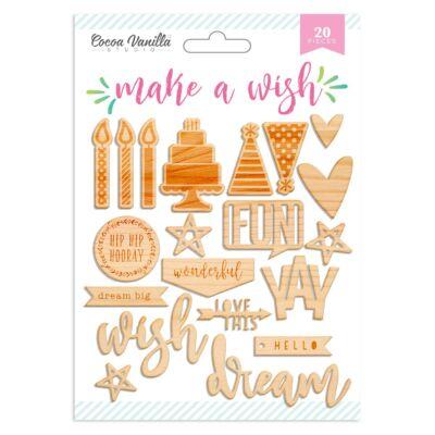 Cocoa Vanilla Studio - Make A Wish Wood Veneer