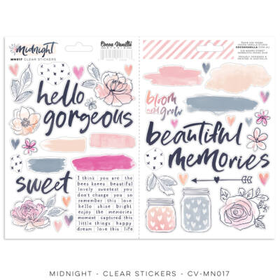 Cocoa Vanilla Studio - Midnight Clear Stickers