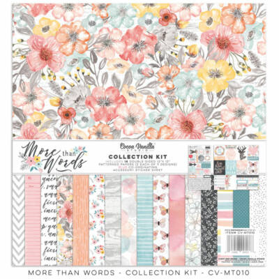 Cocoa Vanilla Studio - More Than Words 12x12 Collecion Kit