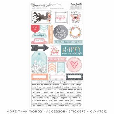Cocoa Vanilla Studio - More Than Words Accessory Sticker