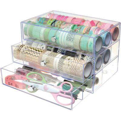 Deflecto Washi Tape Storage Cube