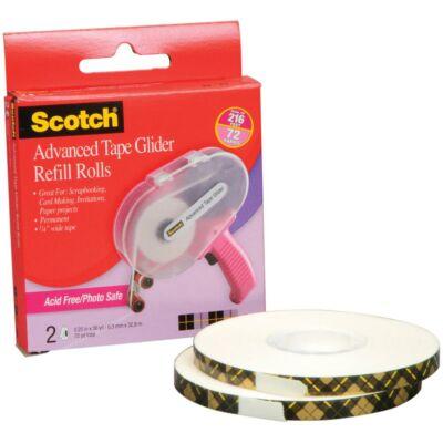 Scotch Advanced Tape Glider Acid-Free Refills 2/Pkg