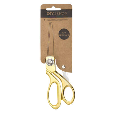 American Crafts DIY 3 Scissor - Gold