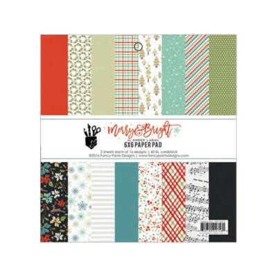 Fancy Pants Designs - Merry and Bright 6 x 6 Paper Pad