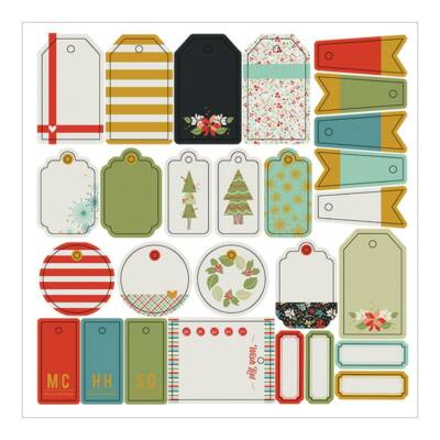 Fancy Pants Designs - Merry and Bright Tags