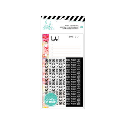 Heidi Swapp - Memory Planner 2017 - Planner Inserts - To Do