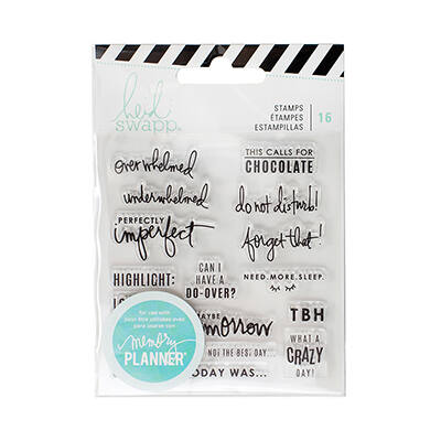 Heidi Swapp - Memory Planner 2017 - Clear Stamps Day