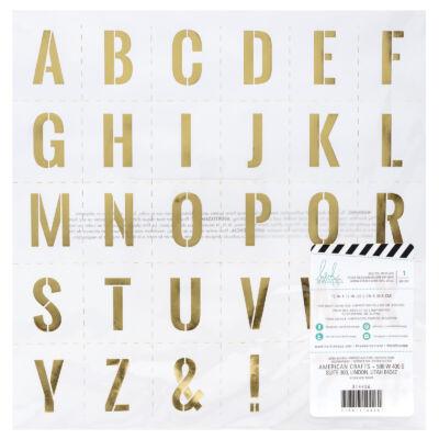 Heidi Swapp - Emerson Lane 12x12 Vellum Specialty Paper - Stencil