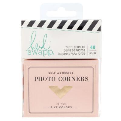 Heidi Swapp - Emerson Lane - Photo Corners (40 Piece)