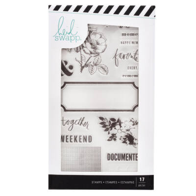 Heidi Swapp - Emerson Lane - Clear Stamp (17 Piece)