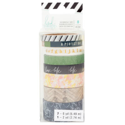 Heidi Swapp - Emerson Lane - Washi Tape Set (8 Piece)