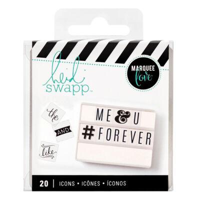 Heidi Swapp - Lightbox Basics Icon Inserts