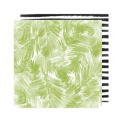 Heidi Swapp - Pineapple Crush 12x12 Paper - Palm Beach
