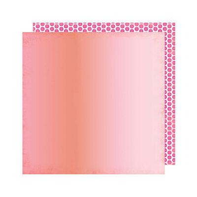 Heidi Swapp - Pineapple Crush 12x12 Paper -  Sun Chaser