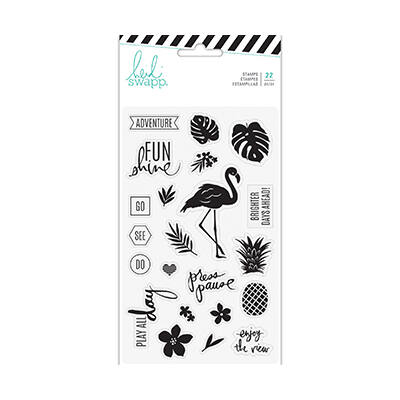 Heidi Swapp - Pineapple Crush Clear Stamp Set