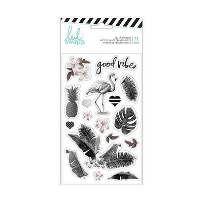 Heidi Swapp - Pineapple Crush Clear Stickers