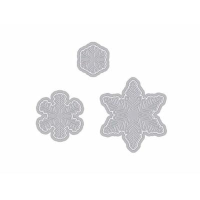 Hero Arts Paper Layering Snowflakes Die