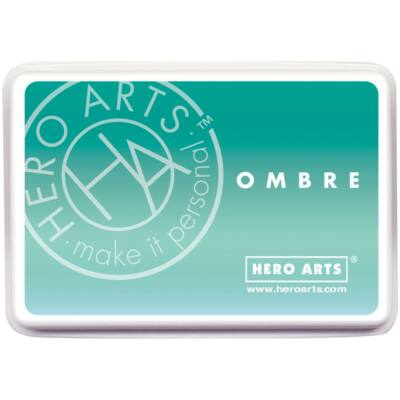 Hero Arts Ombre Ink Pad - Mint To Green