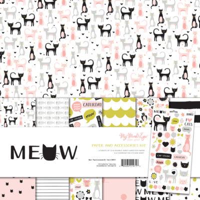 My Mind's Eye - Meow 12 x 12 Paper Kit