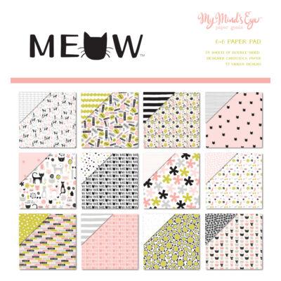 My Mind's Eye - Meow 6 x 6 Paper Pad