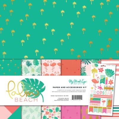 My Mind's Eye - Palm Beach 12 x 12 Paper Kit