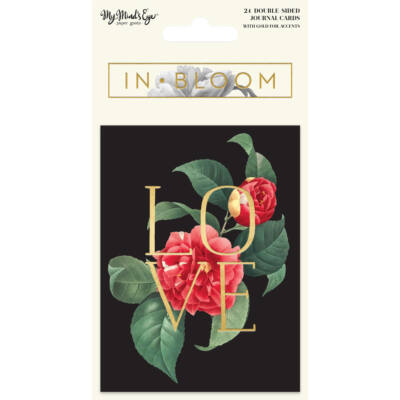 My Mind's Eye - In Bloom Journal Cards