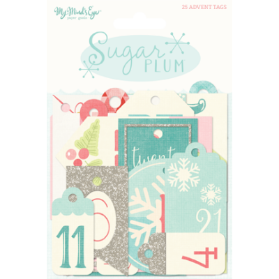 My Mind's Eye - Sugar Plum Tags