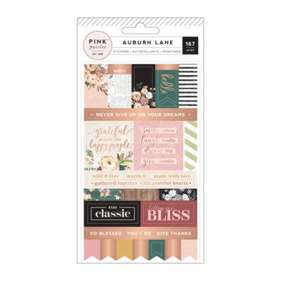 Pink Paislee - Auburn Lane Labels Stickers