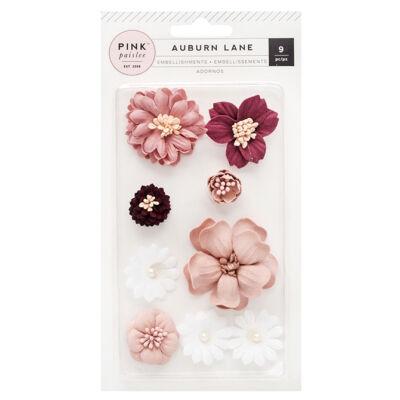 Pink Paislee - Auburn Lane Paper Flowers
