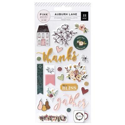 Pink Paislee - Auburn Lane Puffy Stickers