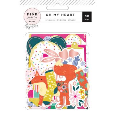 Pink Paislee - Paige Evans Oh My Heart Ephemera
