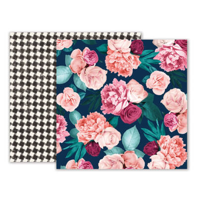 Pink Paislee - Moonstruck 12 x 12 Double Sided Paper - 02