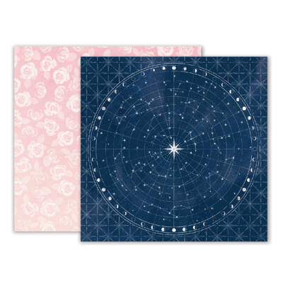 Pink Paislee - Moonstruck 12 x 12 Double Sided Paper - 05