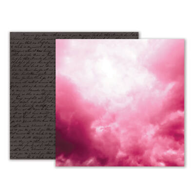 Pink Paislee - Moonstruck 12 x 12 Double Sided Paper - 07