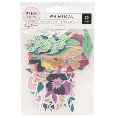 Pink Paislee - Paige Evans Whimsical kivágat - virágok (50 db)
