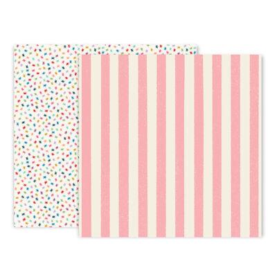 Pink Paislee - Wild Child 12x12 Paper 4