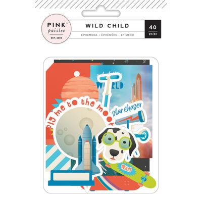 Pink Paislee - Wild Child Ephemera - Boy