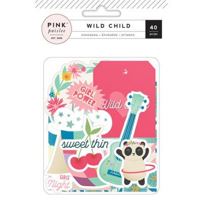Pink Paislee - Wild Child Ephemera - Girl