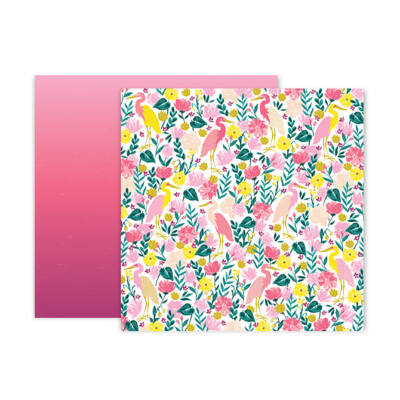 Pink Paislee - Paige Evans - Pick Me Up 12x12 Patterned Paper 23