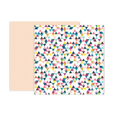 Pink Paislee - Paige Evans - Pick Me Up 12x12 Patterned Paper 6