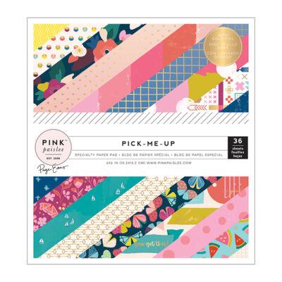Pink Paislee - Paige Evans - Pick Me Up 6x6 Paper Pad