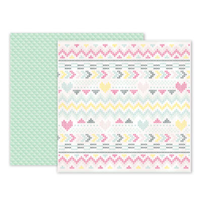 Pink Paislee - Paige Evans - Take Me Away 12 x 12 Double Sided Paper - 03