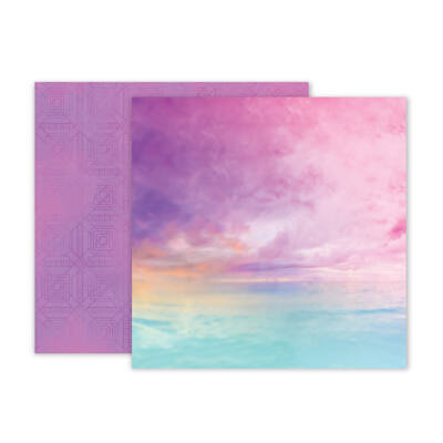 Pink Paislee - Summer Lights 12x12 Double Sided Paper - 02