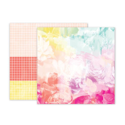 Pink Paislee - Summer Lights 12x12 Double Sided Paper - 08