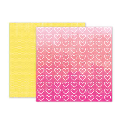 Pink Paislee - Summer Lights 12x12 Double Sided Paper - 11