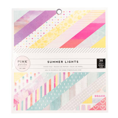 Pink Paislee - Summer Lights 6x6 Paper Pad
