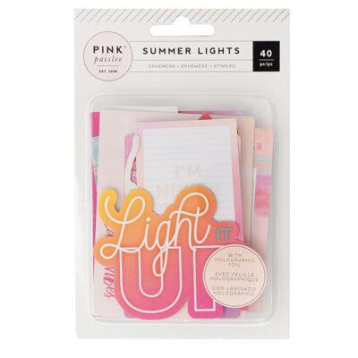 Pink Paislee - Summer Lights Ephemera Die-Cuts